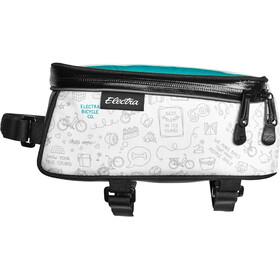 Electra Rahmentasche mit Telefon-Tasche doodle white
